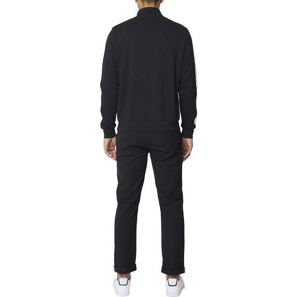 1/2 Zip Branded Sweat Black, BLACK, hi-res