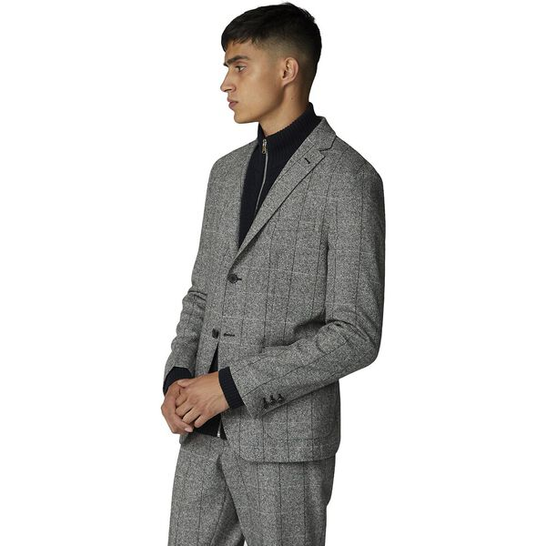 Salt And Pepper Blazer Grey