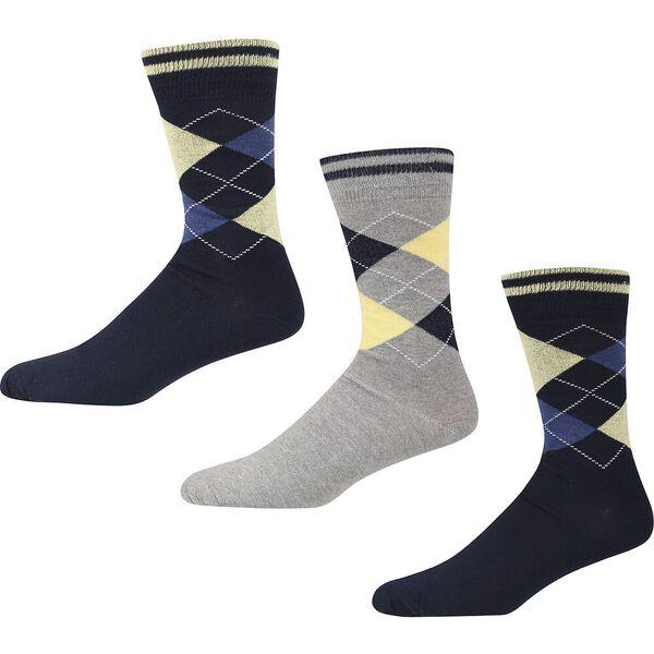 Grand Flaneur 3 Pack Socks