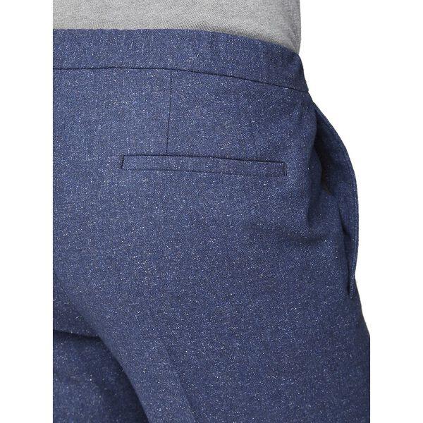 Mid Blue Speckle Trouser Blue, BLUE, hi-res