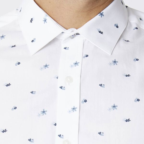 Ls Formal Camden Scattered Floral Shirt, WHITE, hi-res