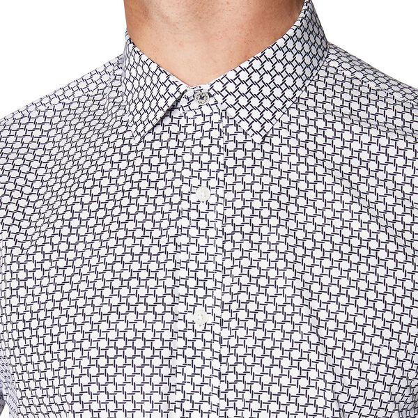 Formal Cane Print Camden Shirt, STAPLES NAVY, hi-res