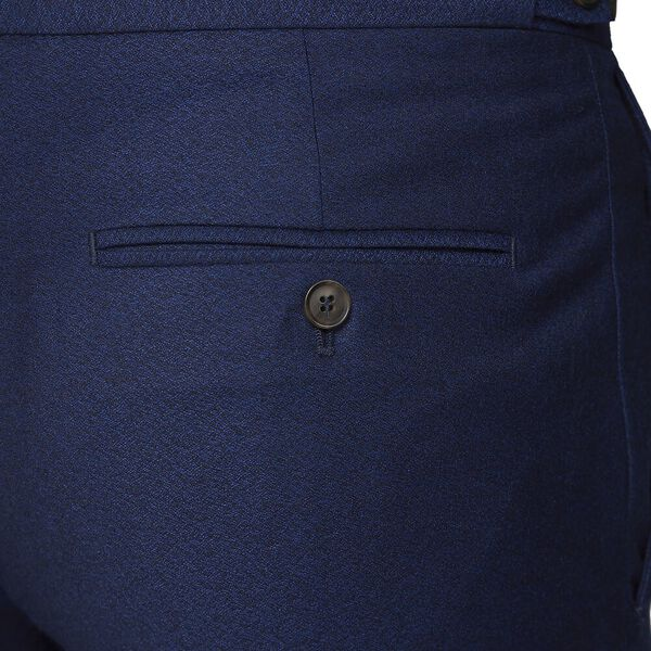 BRITISH BRIGHT BLUE CREPE TROUSER, BRIGHT BLUE, hi-res