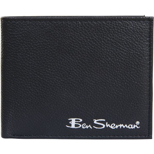 CLAYTON LEATHER WALLET WITH COIN POCKET