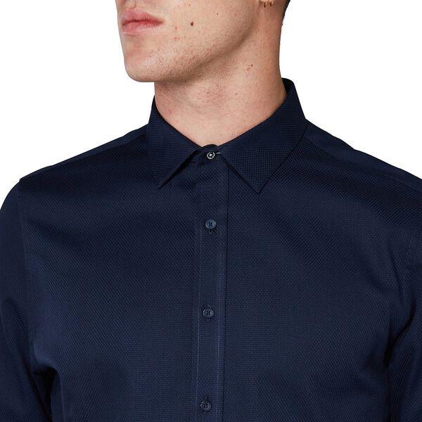 Diamond Dobby Camden Shirt, STAPLES NAVY, hi-res