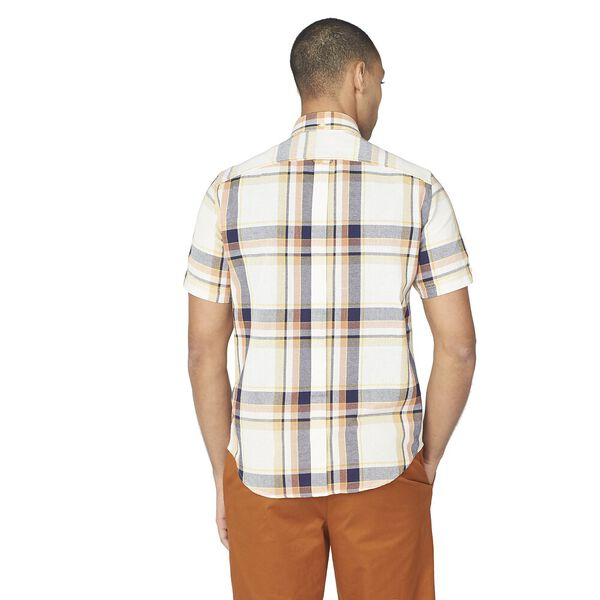 LARGE OXFORD CHECK SHIRT, ANISE, hi-res