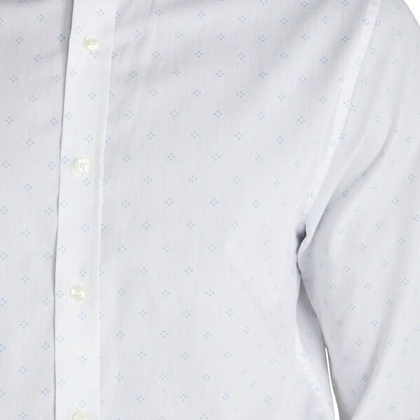 FORMAL OXFORD STRIPE CAMDEN SHIRT, WHITE, hi-res