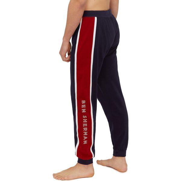 ARLO LOUNGE PANTS, NAVY/RED/WHITE PRINT, hi-res