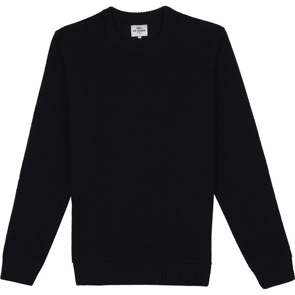 BOUCLE KNIT DARK NAVY, DARK NAVY, hi-res
