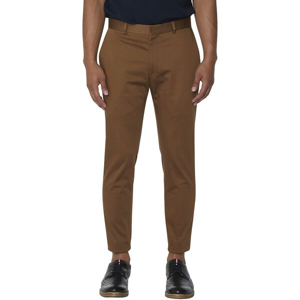 Tan Cotton Trouser
