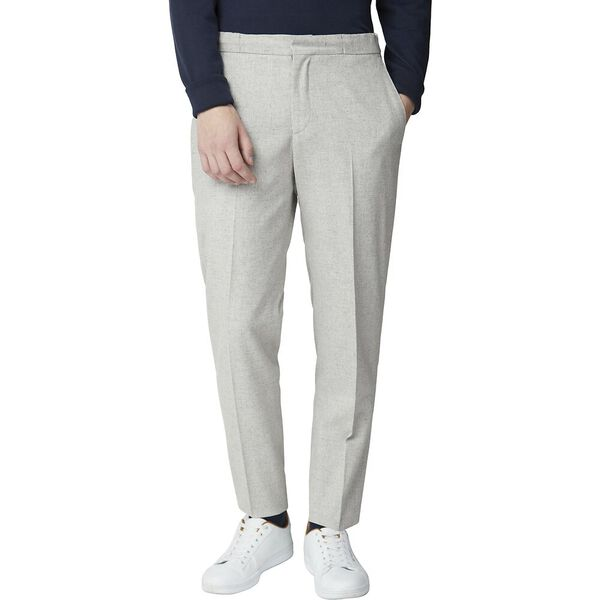 Cool Grey Speckle Trouser Light Grey