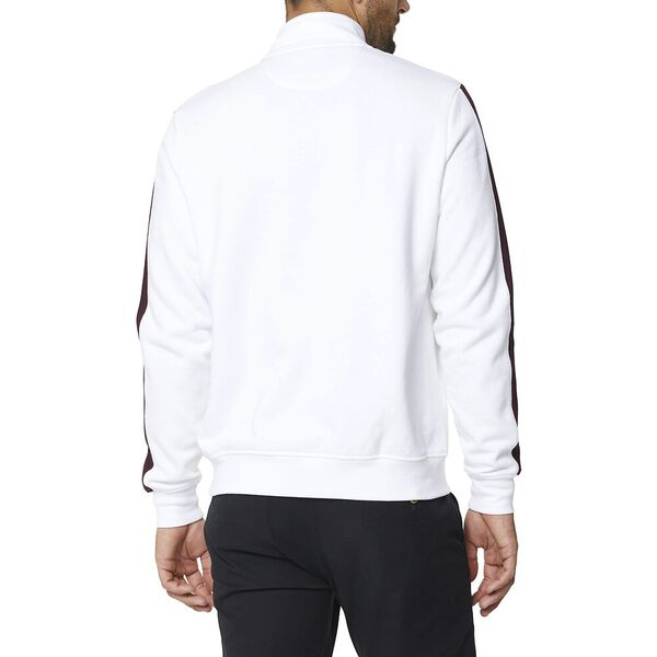 1/2 Zip Branded Sweat White, WHITE, hi-res