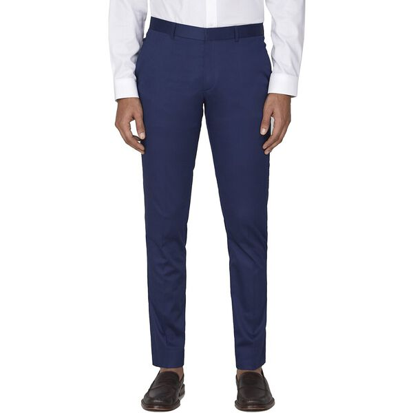 BLUE COTTON TROUSER