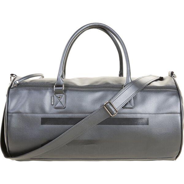Stripe Mod Pu Holdall Bag