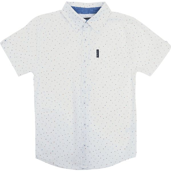 Kids Diamond Print Shirt