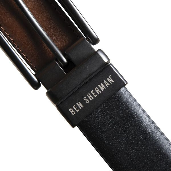 Reversible Belt, BLACK/TAN, hi-res