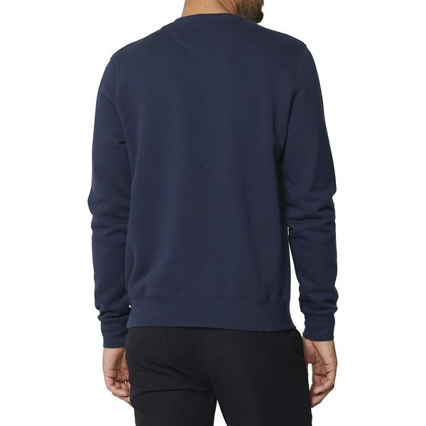 Cut And Sew Chest Sweat Dark Navy, DARK NAVY, hi-res