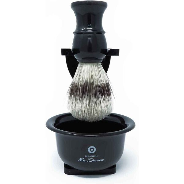 SHAVING SET BLACK