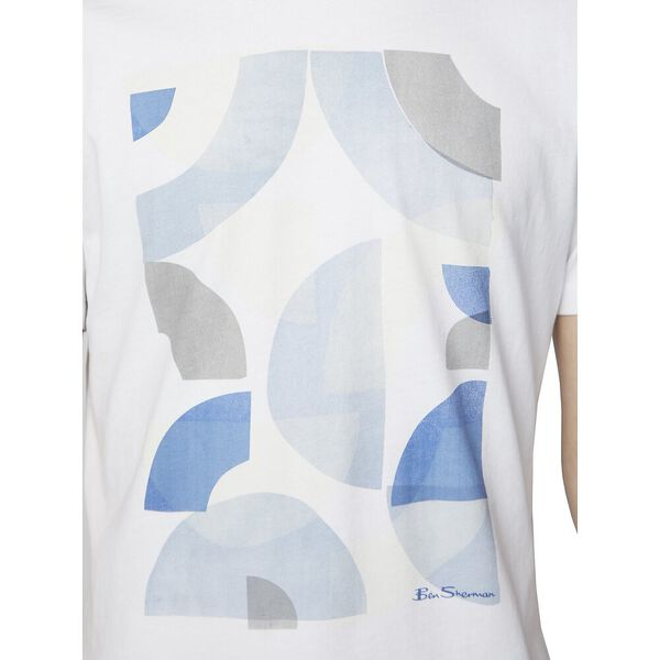ABSTRACT TARGETS TEE, WHITE, hi-res