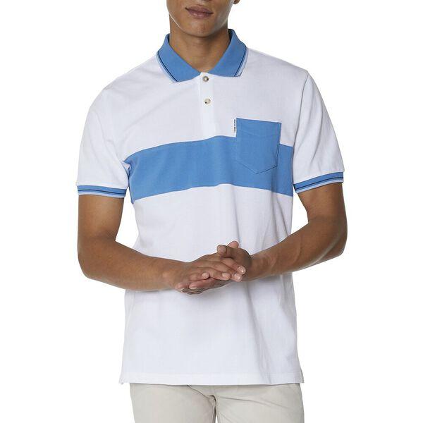 Panel Pocket Polo, WHITE, hi-res