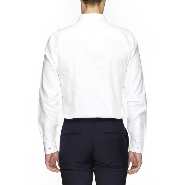 Honeycomb Camden Shirt, BRIGHT WHITE, hi-res