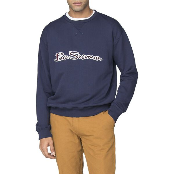 ARCHIVE LOGO CARRIER SWEAT