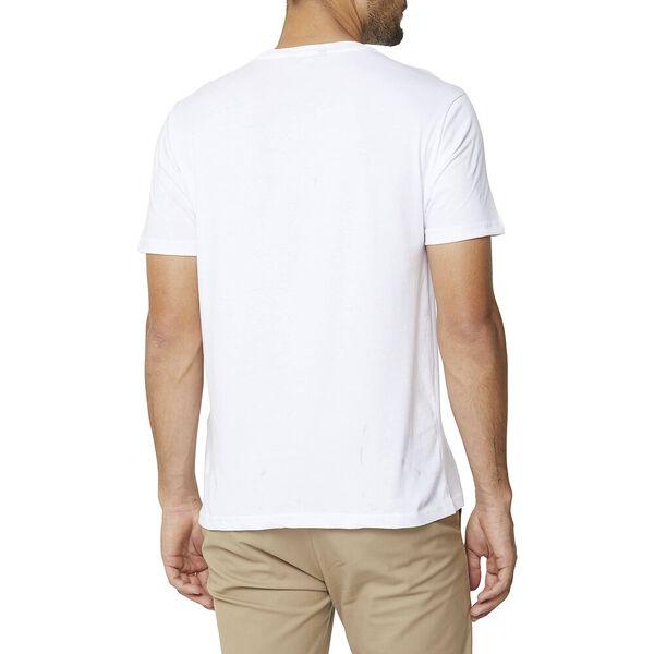 Tropical Graphic Tee White, WHITE, hi-res