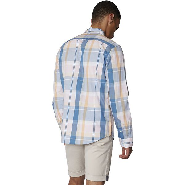 Madras Check Shirt, BRIGHT BLUE, hi-res