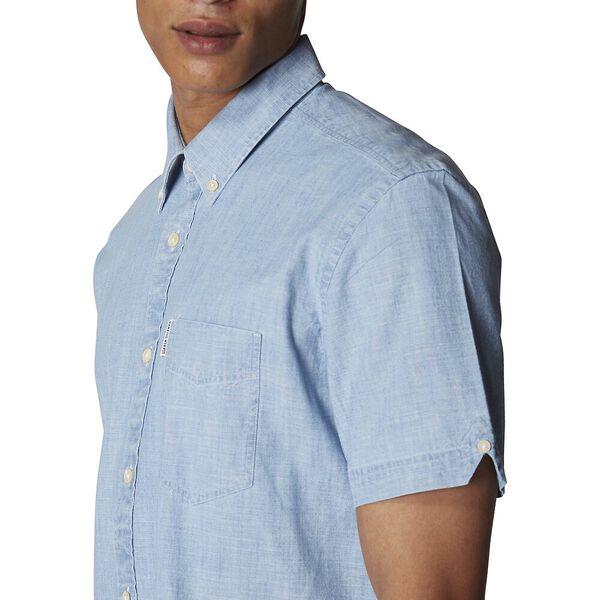 Chambray Shirt, WASHED BLUE, hi-res