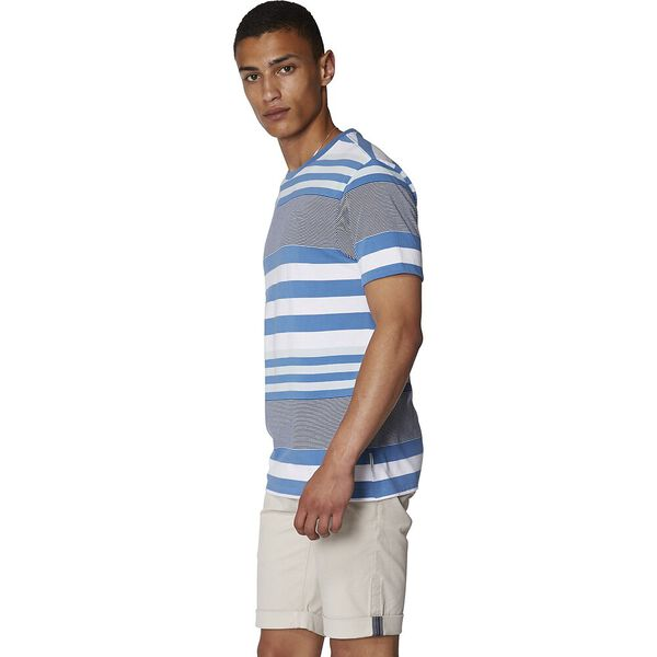 BLUES STRIPE T-SHIRT, PARISIAN BLUE, hi-res