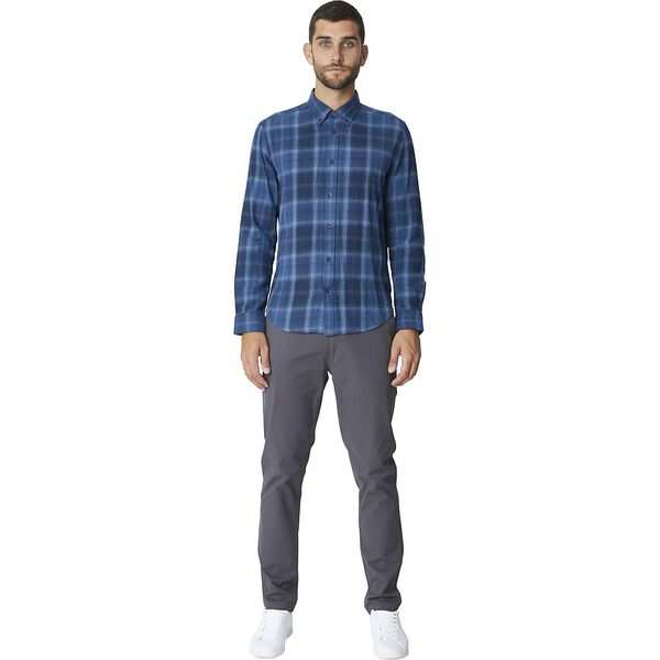 Ls Buffalo Check Shirt Dark Navy, DARK NAVY, hi-res