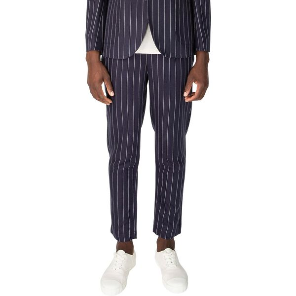 PIN STRIPE LINEN TROUSER
