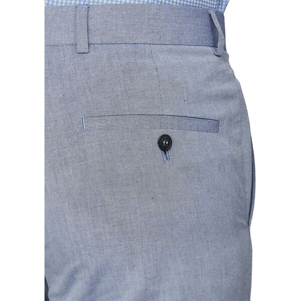 BLUE CHAMBRAY TROUSER, ROYAL BLUE, hi-res
