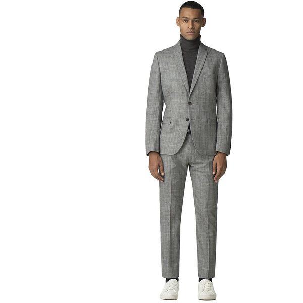 Grey Pow Mod Check Jacket, GREY, hi-res