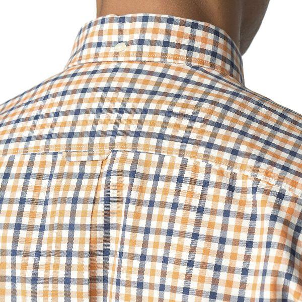 Ls House Gingham Shirt Orange, ORANGE, hi-res