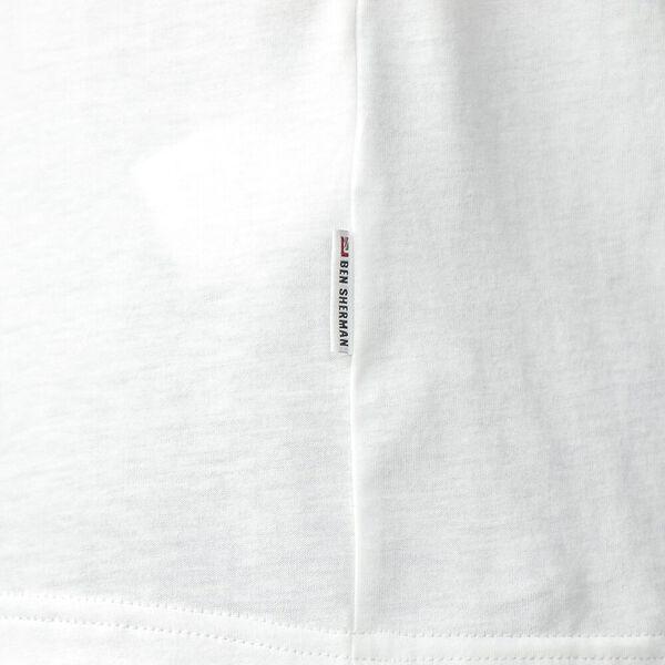 Ivy Badges T-Shirt, WHITE, hi-res