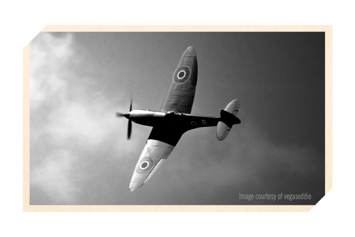 target plane